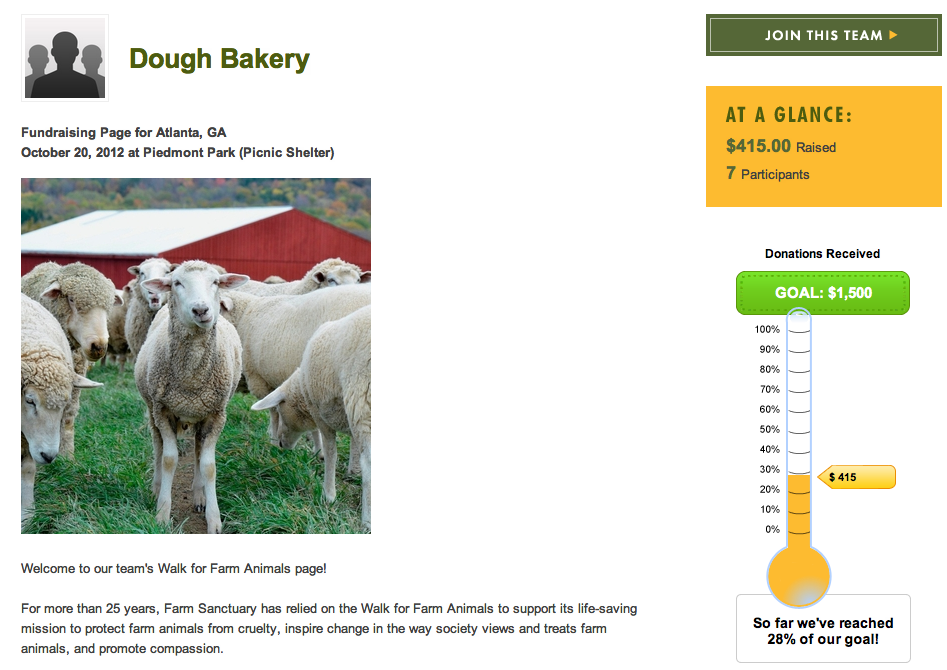 dough bakery farm animals walk team